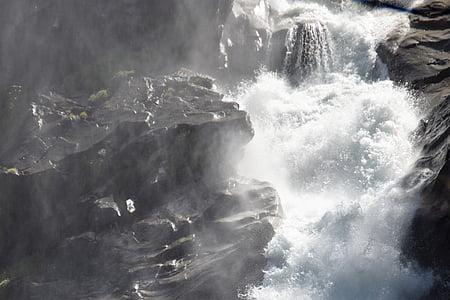 cascadă, Krimml, natura, apa, Munţii, Cascadele Krimml, Râul