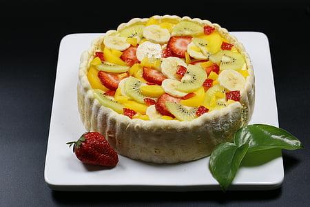 gurmet, pastís, Pastís de fruites, aliments, fruita, postres, frescor