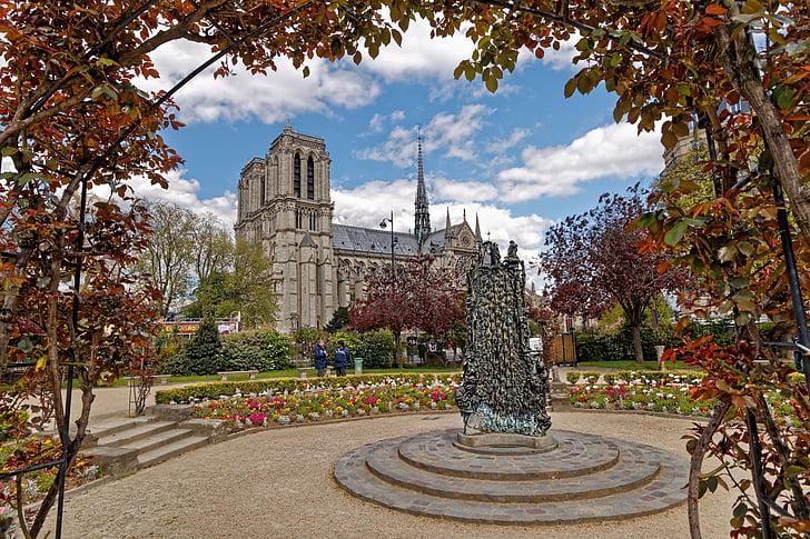 paris, cathedral, our lady of paris, france