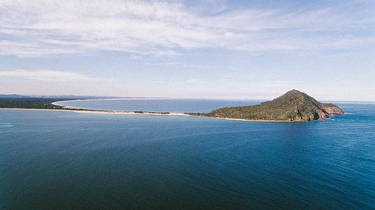 illa, natura, oceà, a l'exterior, sorra, escèniques, Mar