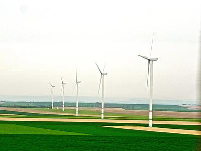 enerji, Yeşil, Rüzgar, güç, çevre, üretimi, verimliliği
