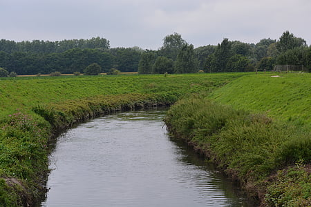 river, nature, waterway, landscape, natural water