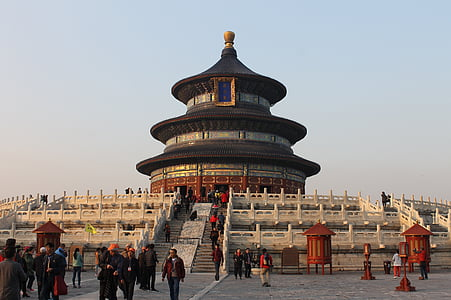 beijing, the temple of heaven, monument, altar of heaven, ming dynasty, asia, architecture