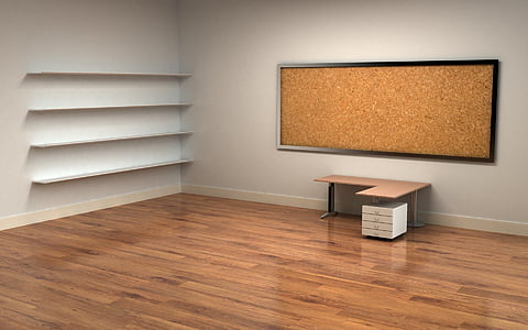 office, table, luggage, domestic Room, indoors, flooring, home Interior