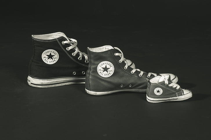 negre i blanc, marca de marca, negoci, llenç, casual, clàssic, conversar