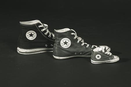 Converse, tenisice, Chuck je, cipele, Sportska obuća, vezica, sve zvijezde