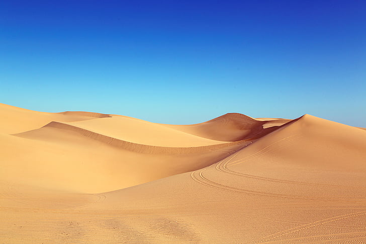 pustinja, Dina, algodones dine, dine, pješčane dine, pijesak, priroda