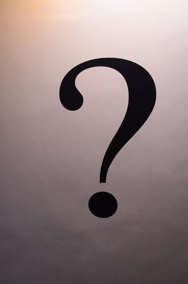 concepte, resum, pregunta, marca, símbol, signe, problema