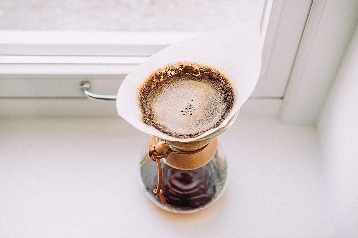 venster, deelvenster, glas, koffie, Indoor, hete, chocolade