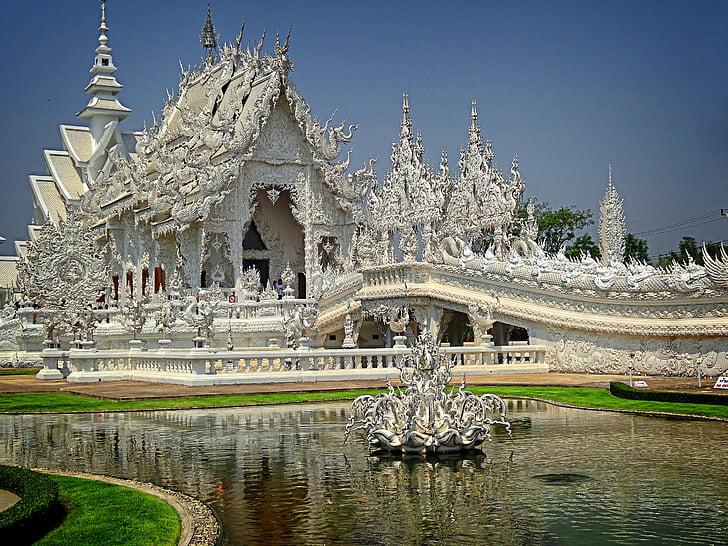 Wat Rong khun, Chiang rai, Thailand, Buddhismus, Asien, Architektur, Buddha