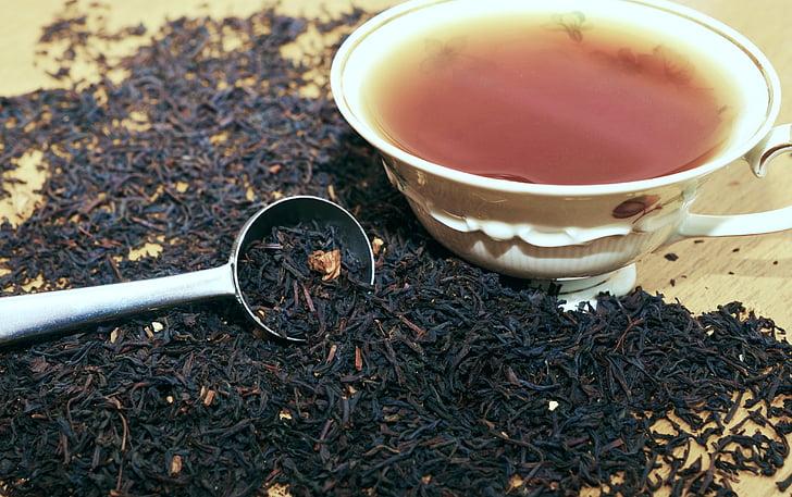 Tee, плод и чай, гранули, ароматни, сушени плодове, купа, чай гранули