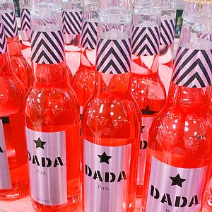 borok, sul, pezsgő, liquor, karbonát, piros, üveg palackok