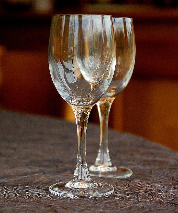 чаши за вино, дегустация, вино, стъкло, напитка