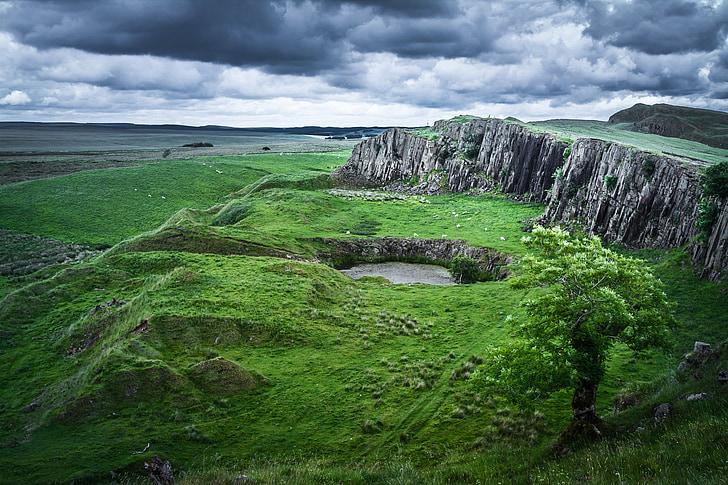 scotland, hole, sky, mood, travel, places of interest