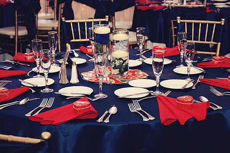 sopar, recepció, taula, celebració, banquet, menjador, placa