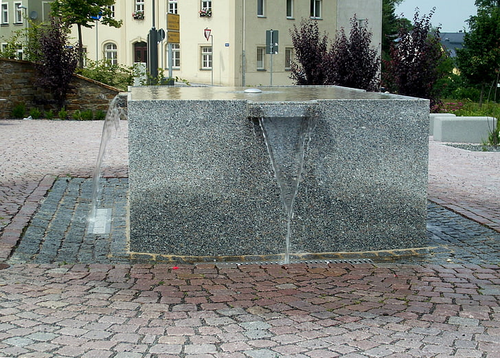 렌 겐 펠트, 광 석 산, 물 특징, 우물 물