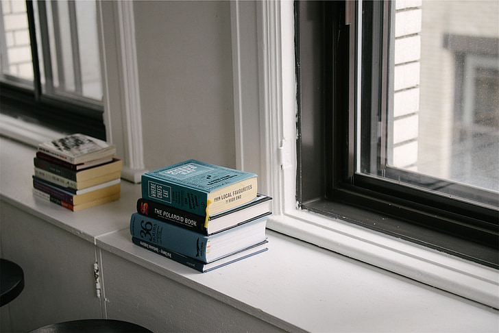 books, window, literature, reading, room, novels, book