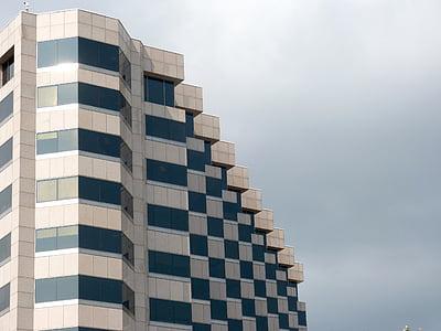 rakennus, toimistorakennus, arkkitehtuuri, kaupunkien, yritysten, moderni, Office