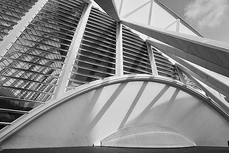 arhitektuur, Valencia, linn teaduse, teadus, kunsti, Calatrava, kaasaegne
