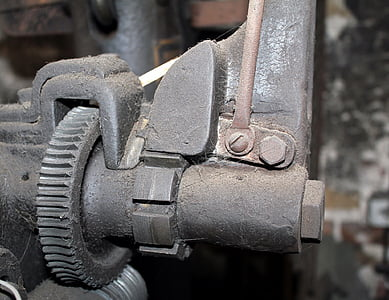 màquina, tecnologia vella, motor, Històricament, mecànica, Sprocket, acer