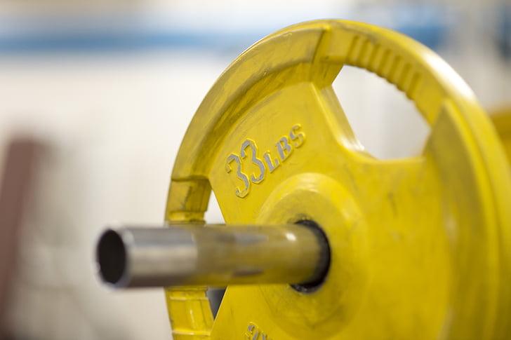 Fitness, vekter, trening, Øvelse, vekttrening, treningsstudio, fitness-trening