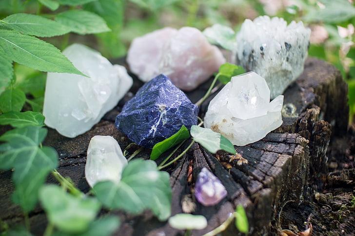 kryštály, kamene, liečenie, Mystic, duchovný, Quartz, ruženín