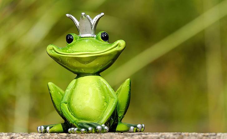 カエル, 図, 王, かわいい, 面白い, 甘い, 楽しい