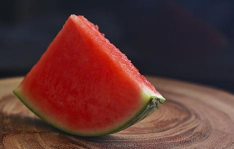Vandmelon, frugt, mad, ernæring, sund, gul, spise sundt