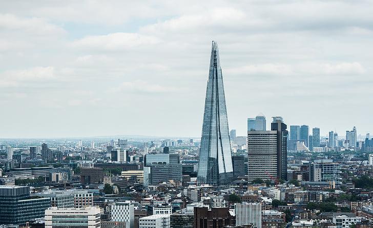 Architektūra, pastatų, Miestas, miesto peizažas, dangus, Panorama, dangoraižis