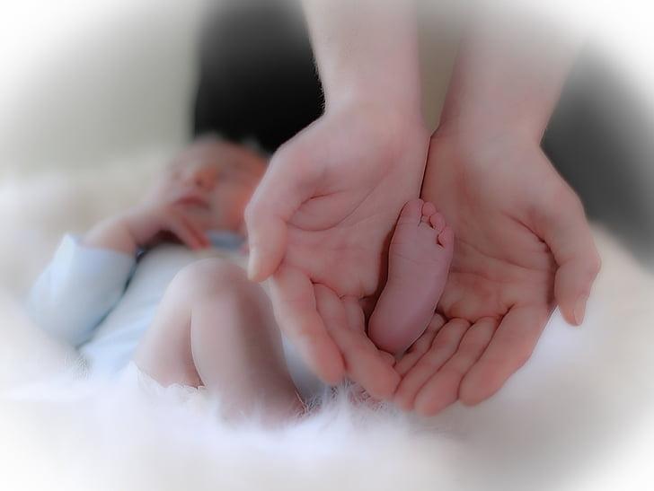 nascimento, bebê, criança, maternidade, mãe, criança pequena, felicidade