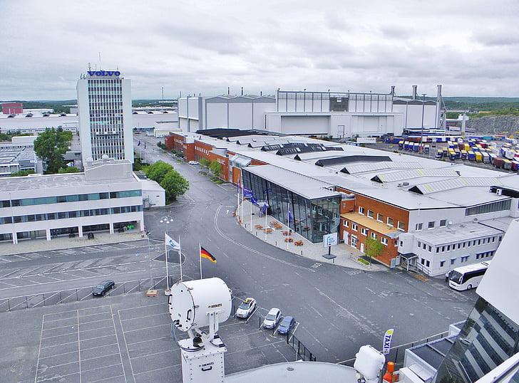 Volvo, museet, hamn, Göteborg, Sverige, Aida, investerare