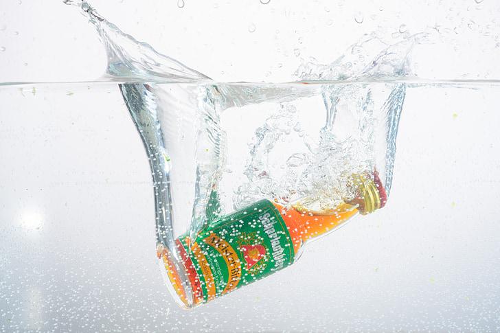 víz, Fecskendezzünk be, üveg, spray, fröccsenő víz, túlcsordulási, csepegtető