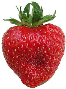 zemeņu, garšīgs, Frisch, augļi, sarkana, ogu, rieksts