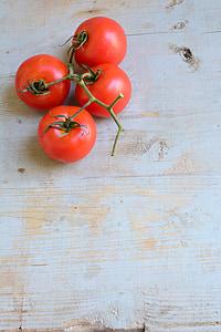 tomàquets cherry, tomàquet, aliments, fruita, Amanida, Bio, fresc