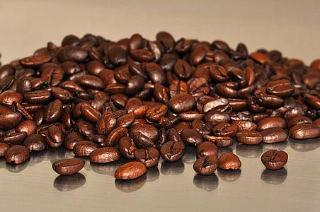 koffie, bonen, koffiebonen, aroma, cafeïne, Café, Boon