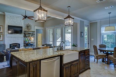 kitchen, real estate, interior design, architecture, real, estate, house