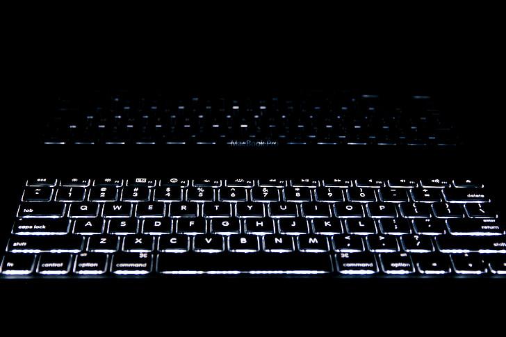 klávesnica, Technológia, reflexie, počítač, podnikanie, laptop, komunikácia