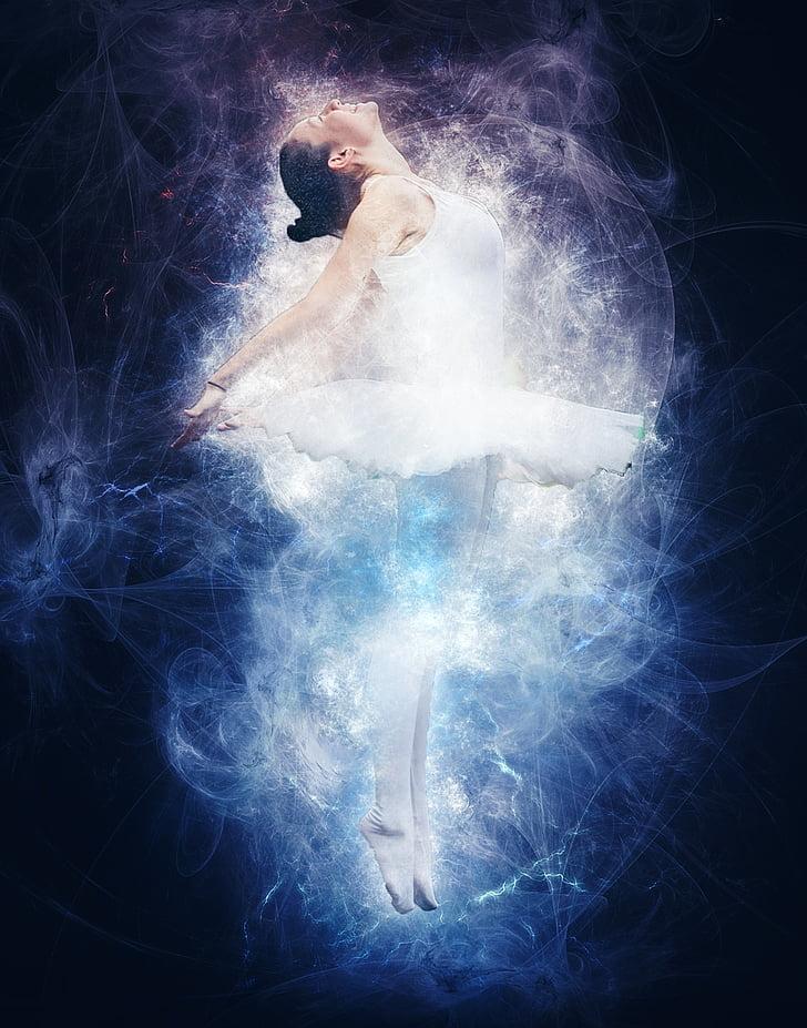 ballarina de ballet, equilibri, ballarina, rendiment, elegància, clàssica, equilibri