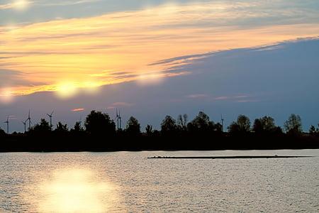 Ανατολή ηλίου, morgenrot, ουρανούς, Αυγή, Ήλιος, το φθινόπωρο, Φθινοπωρινή διάθεση