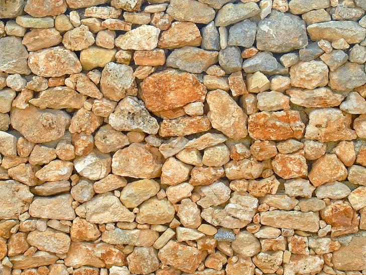 ozadje, kamen ozadje, kamen, steno, suho kamnitim zidom, tekstura, vzorec