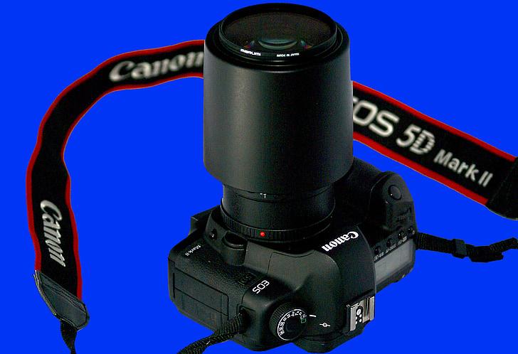 kamera, Canon kameras, SLR, lēcas, organizācija, nēsāšanas siksniņa, Canon 5dmarkii