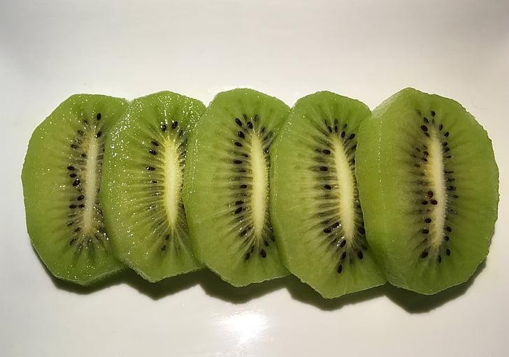 cuixiang kiwi, zhouzhi kiwi grøn hjerte, Kiwi skiver, Kiwi