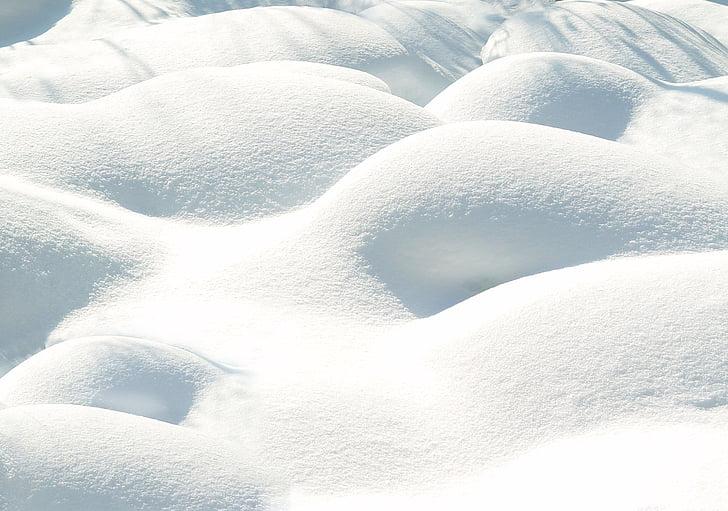 lumi, talvi, Luonto