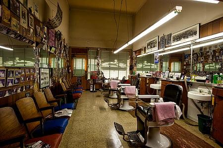 barbershop, barber, salon, haircut, style, cutting, hair