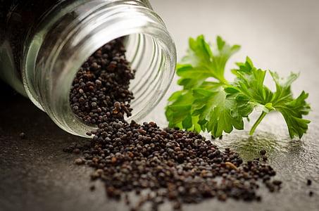 Rosella, llavor, espècies, herbes, sèsam, cuina, cuina