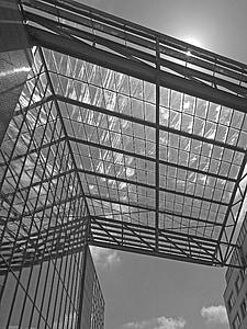 arhitektuur, klaas, hoone, kaasaegne, fassaad, katuse, Moodne arhitektuur