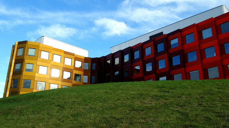Pagrindinis puslapis, Architektūra, spalvinga, Biomedicina, pastatas, fasadas, spalva