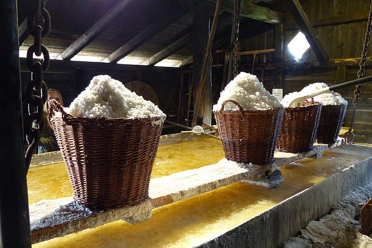 zout, manden, industrie, traditie, zeezout, Middeleeuwen, zout kokend hut
