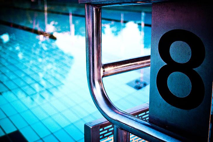 piscina, piscina, piscina exterior, l'estiu, piscina, Inici bloc, nombre