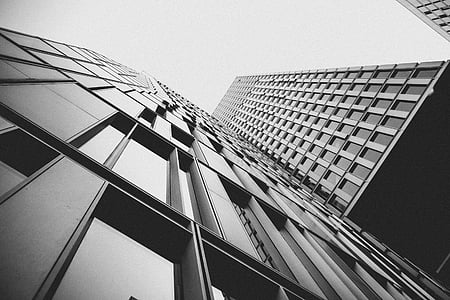 grayscale, photography, tall, building, buildings, architecture, city